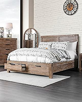 Light Wood Bedroom Furniture Amazon Furniture Of America Fa Cm7360q Bed Daybed