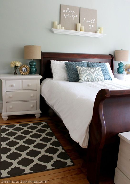 Light Wood Bedroom Furniture Master Bedroom Makeover