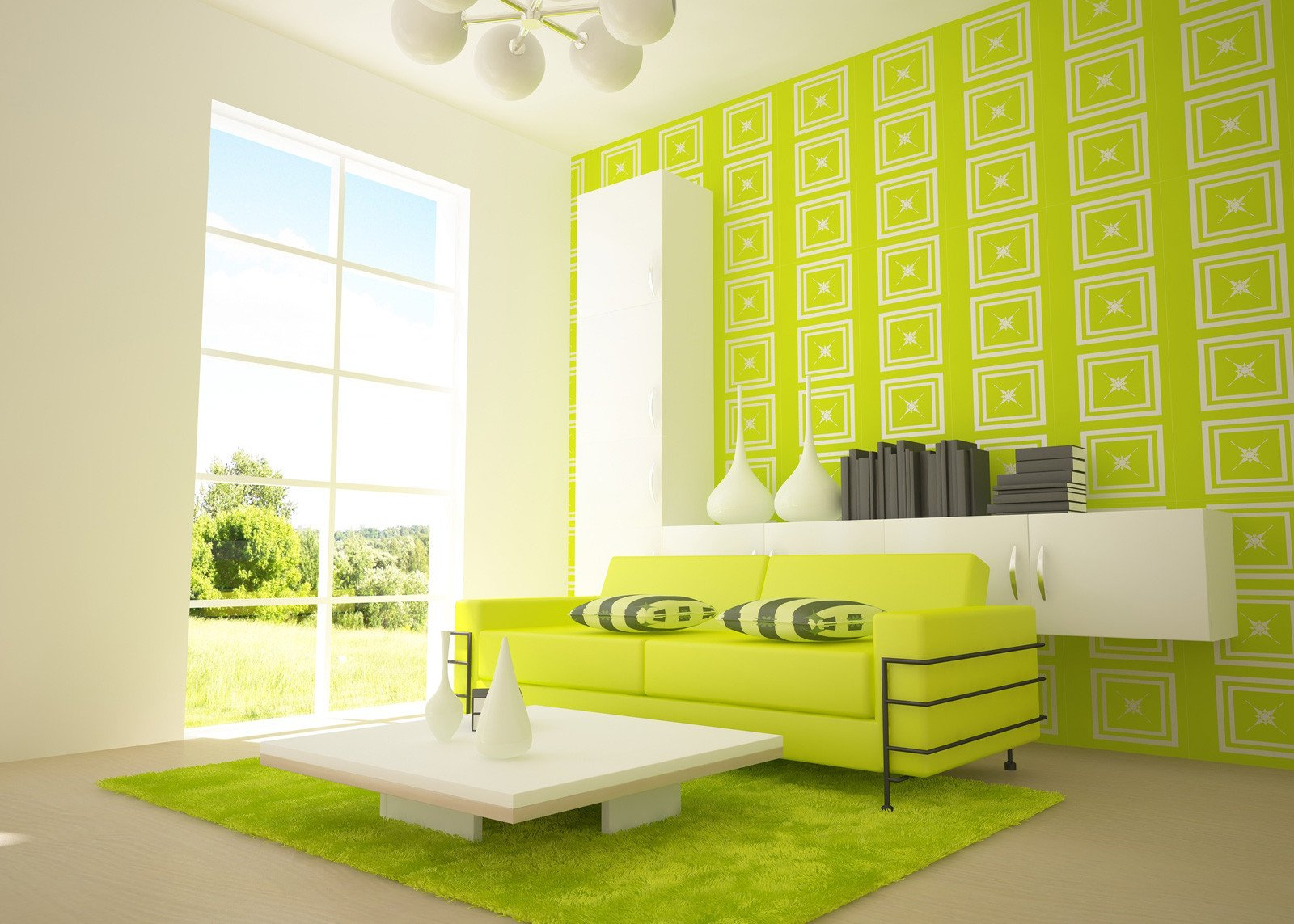 Lime Green Living Room Decor Bright Green Living Room Walls House Decor within Lime