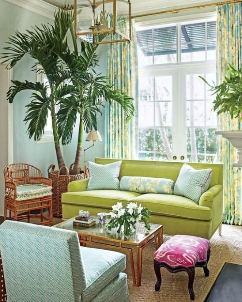 Lime Green Living Room Decor Lime Green Decor Coastal Living Room Ideas