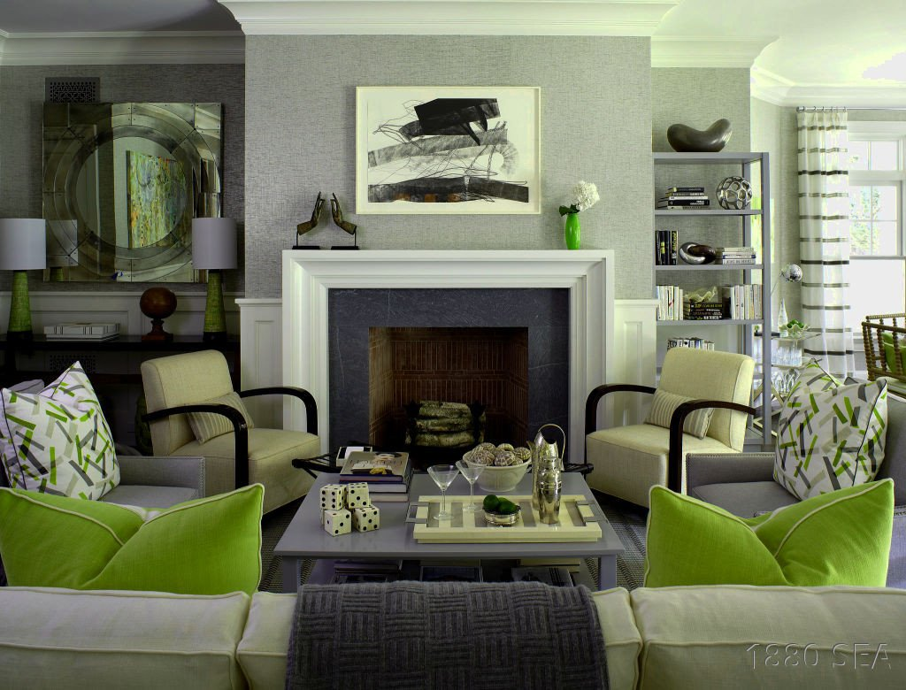 Lime Green Living Room Decor Lime Green Living Room Accessories Home Design Plan Bright