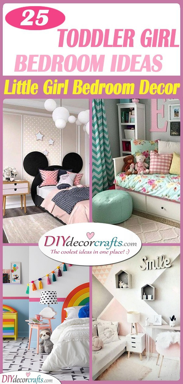 Little Girl Bedroom Decor toddler Girl Bedroom Ideas On A Bud Little Girl Bedroom