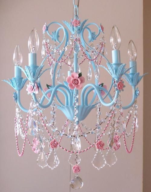 Little Girl Chandelier Bedroom Magical In A Little Girl S Room Spray Paint A Chandelier