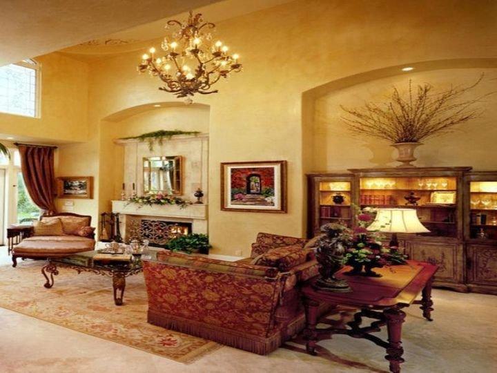 Living Room Art Decor Ideas 20 Awesome Tuscan Living Room Designs