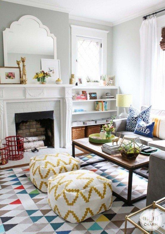 Living Room Art Decor Ideas 33 Cheerful Summer Living Room Décor Ideas Digsdigs