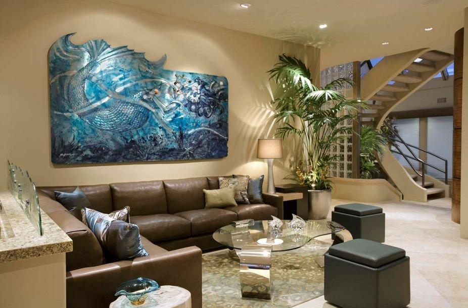 Living Room Art Decor Ideas Des Décorations D'intérieur Inspirées Des Sirènes