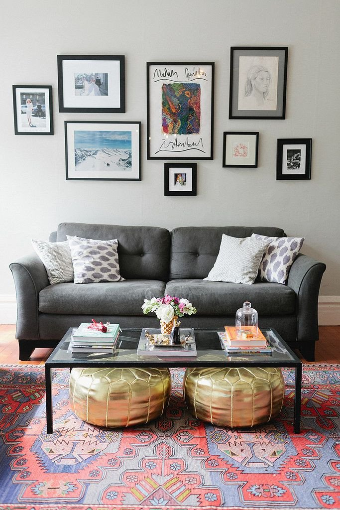 Living Room Art Decor Ideas Money Saving Tips for Decorating Your First Apartment