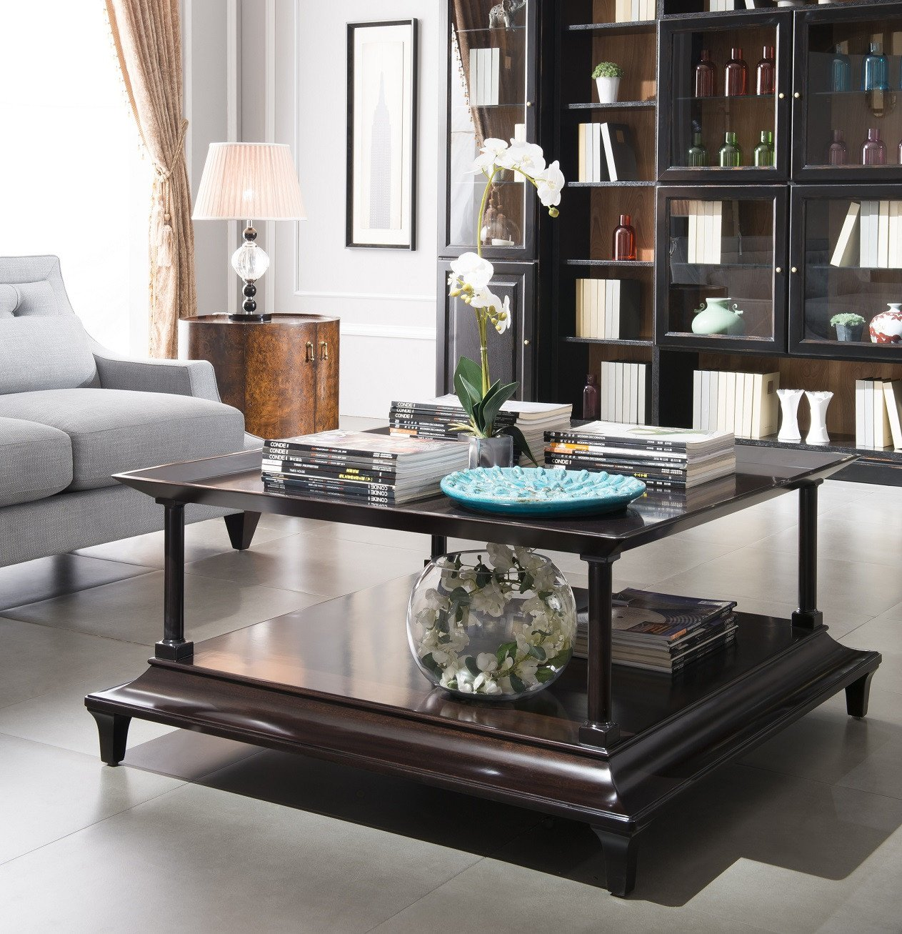 Living Room Center Table Decor Square Coffee Table Center Table Eve