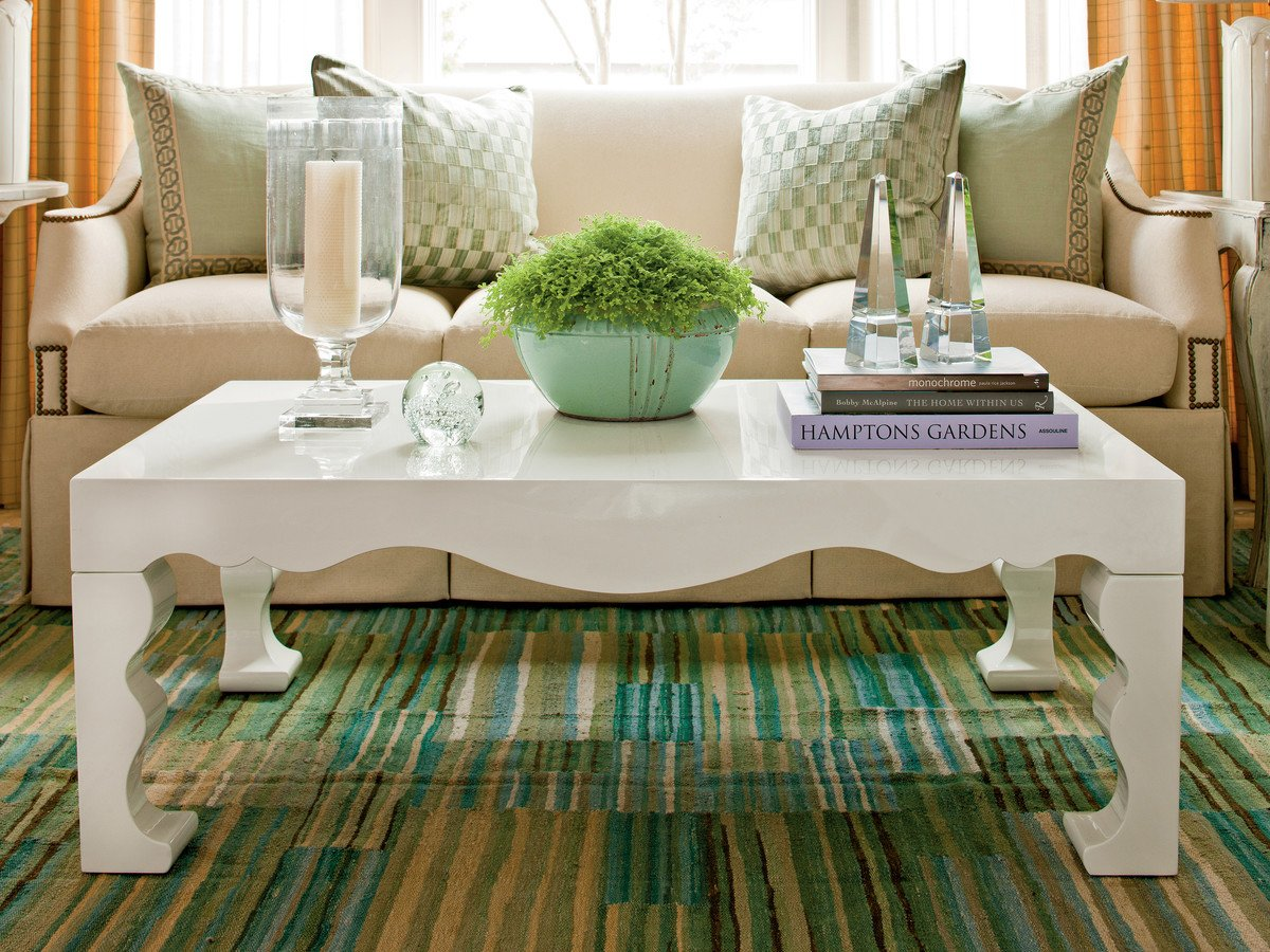 Living Room Coffee Table Decor How to Decorate A Coffee Table southern Living