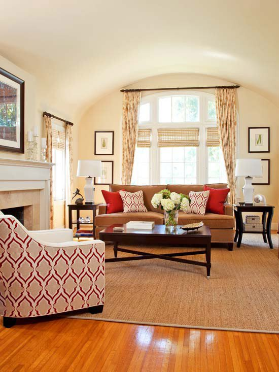 Living Room Color Schemes to Make Your Room Cozy Cozy Decorating orange & Red the Inspired Room