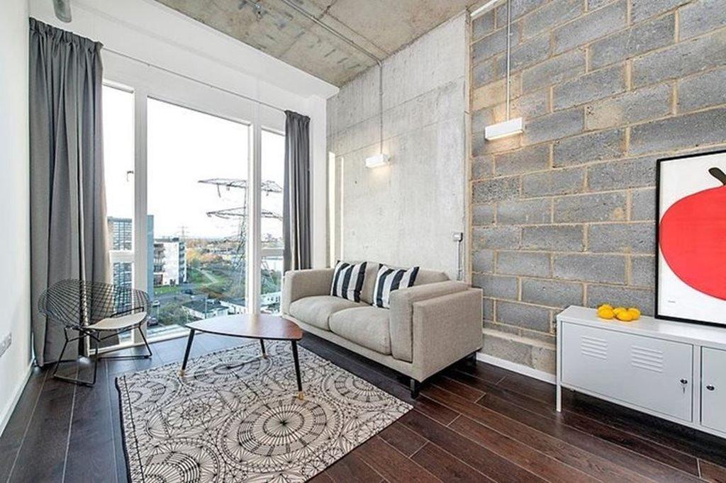 Living Room Decor Ideas Apartment Industrial Style London Apartment
