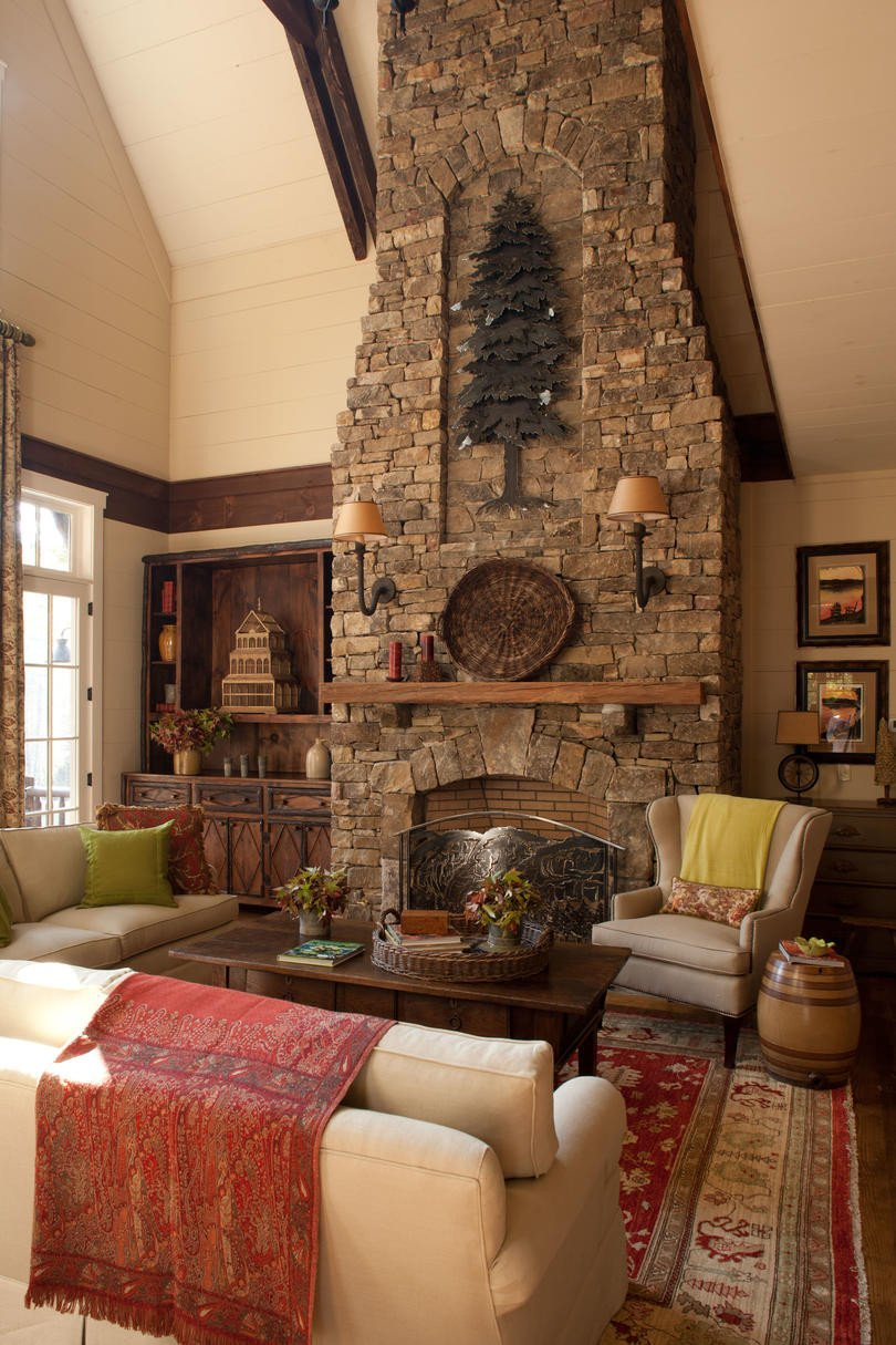 Living Room Decor with Fireplace 106 Living Room Decorating Ideas southern Living