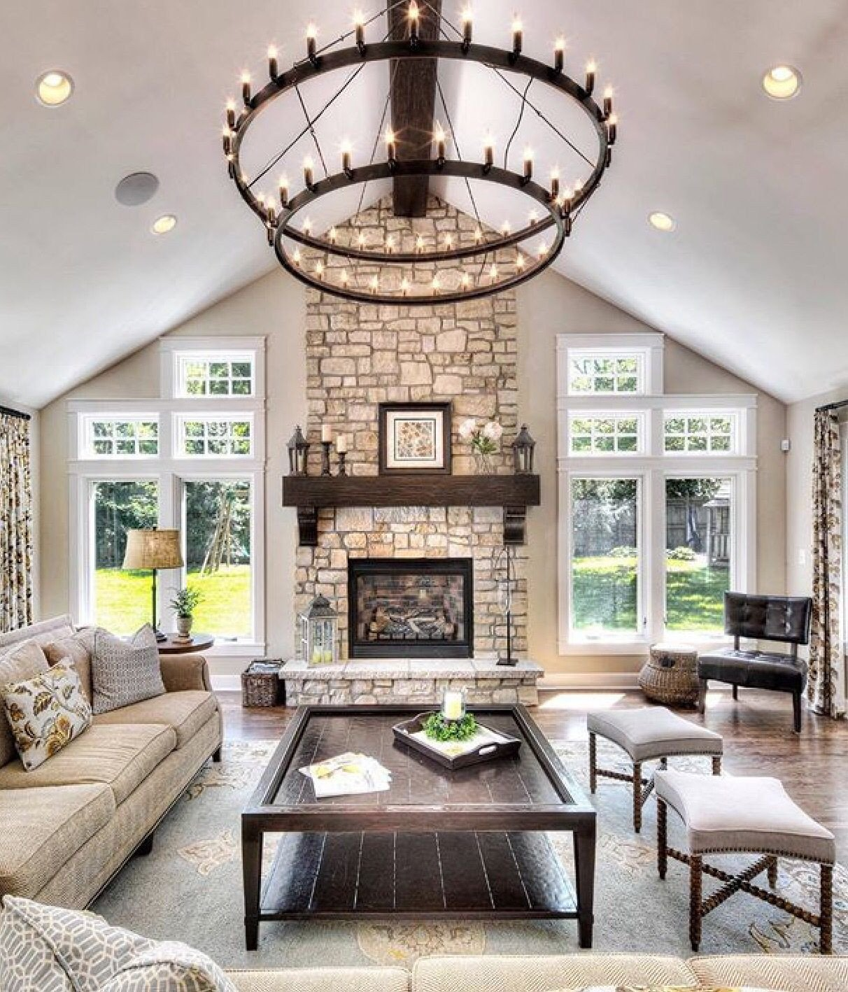 Living Room Decor with Fireplace 21 Home Decor Ideas for Your Traditional Living Room