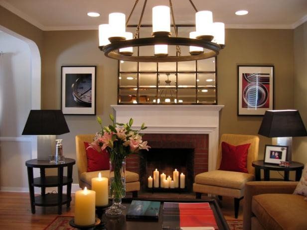 Living Room Decor with Fireplace Hot Fireplace Design Ideas