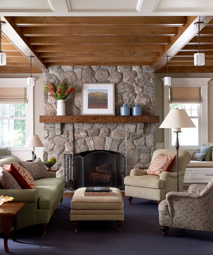 Living Room Decor with Fireplace Rustic Mantel Décor that Will Adorn Your Bored to Death