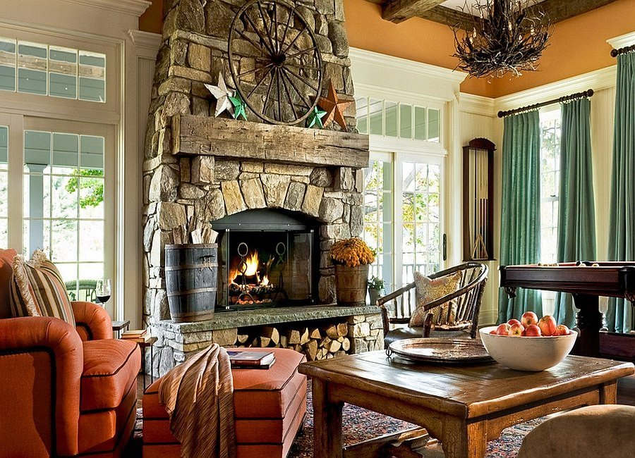 Living Room Decor with Fireplace the Artful Woodpile 30 Fabulous Firewood Storage Ideas
