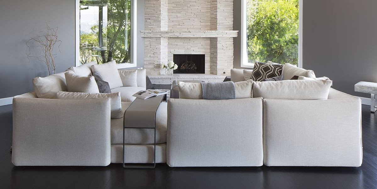 Living Room Decor with Sectional 40 Sectional sofas for Every Style Living Room Decor