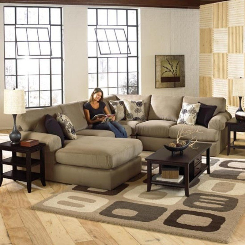 Living Room Decor with Sectional Luxurious Sectional sofa Design by Best Home Furnishings
