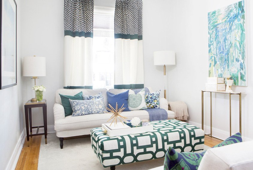Living Room Design for Small Spaces 15 Small Living Room Design Ideas You'll Want to Steal
