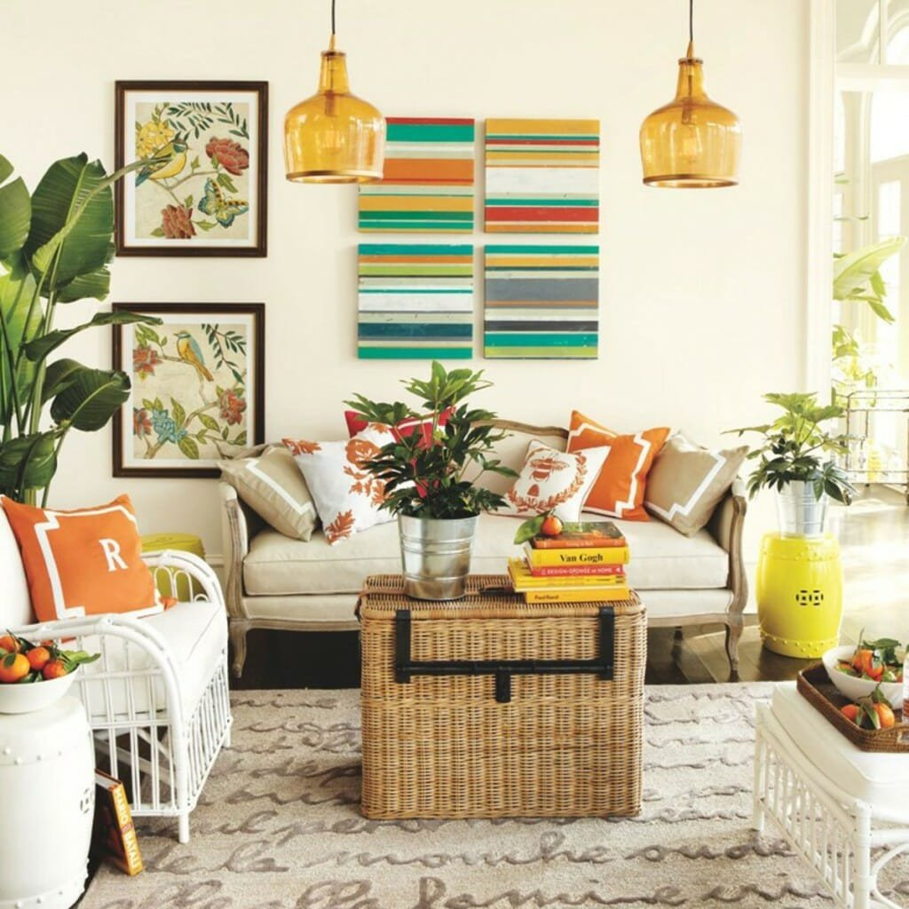 Living Room Design for Summer 5 Ways to Infuse Your Decor with Summer