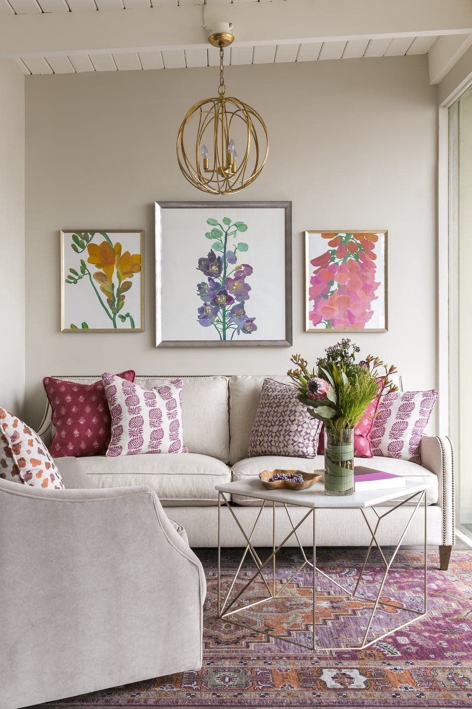 Living Room Design for Summer Summer Decorating Ideas by Dering Hall Design
