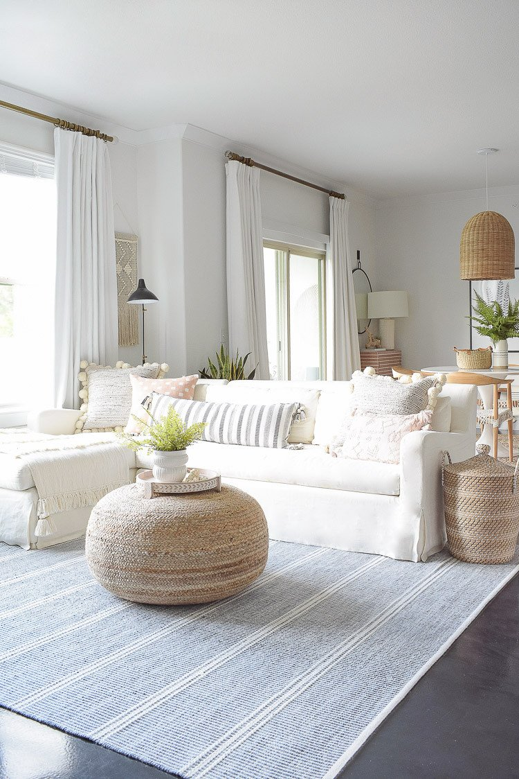 Living Room Design for Summer Summer Your Home Living Room tour