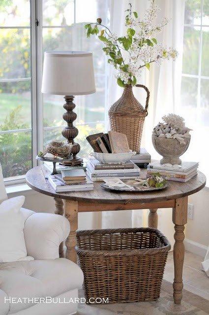 Living Room End Table Decor Sittas Decor Mesas Laterais E De Centro