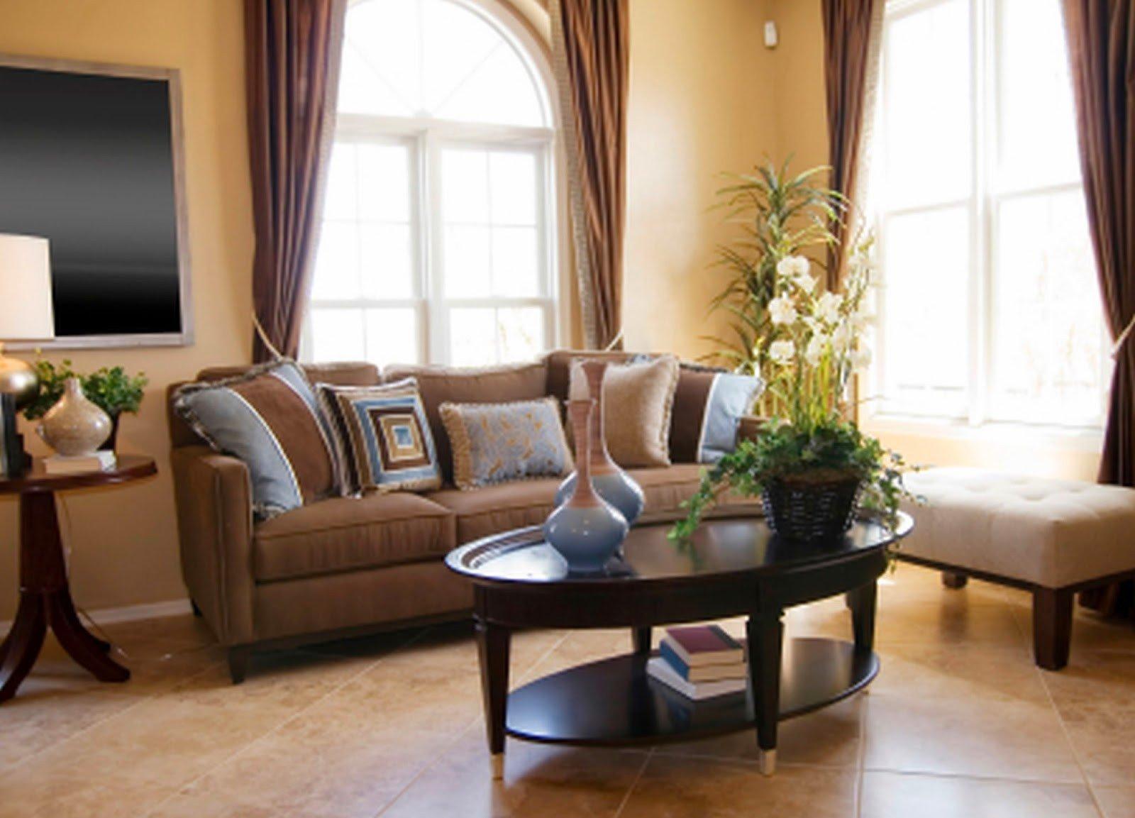 Living Room Home Decor Ideas 2 Living Room Decor Ideas Brown Leather sofa