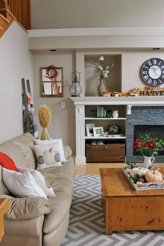 Living Room Home Decor Ideas 35 Fall Living Room Decorating Ideas