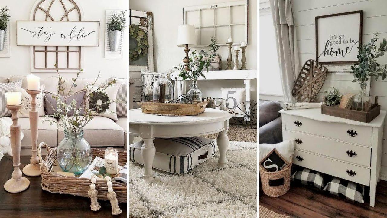 Living Room Home Decor Ideas Diy Farmhouse Style Living Room Decor Ideas