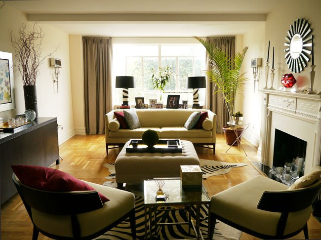 Living Room Home Decor Ideas Eye for Design Decorating with Animal Prints and Hides