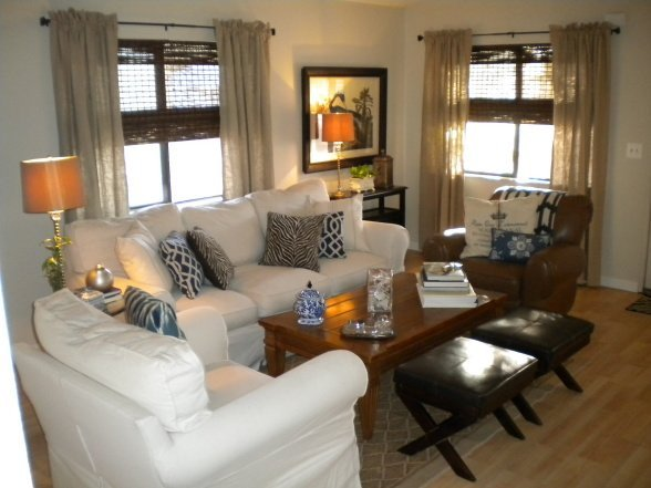 Living Room Home Decor Ideas Manufactured Home Decorating Ideas Modern Cottage Style