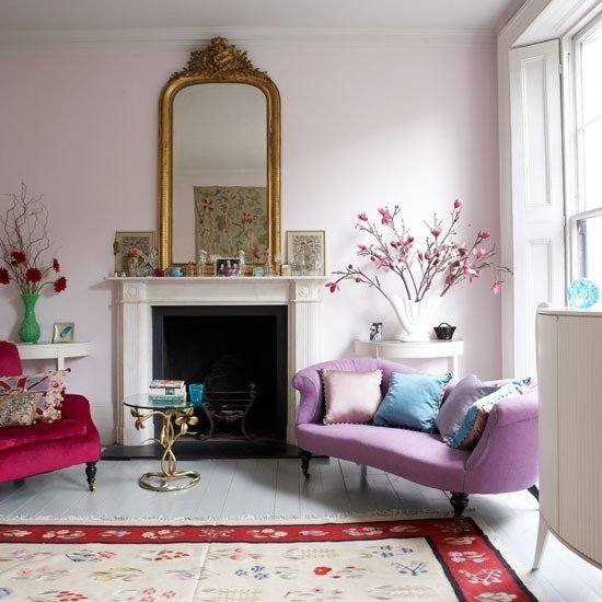 Living Room Home Decor Ideas Modern Furniture 2013 Stylish and Feminine Living Rooms