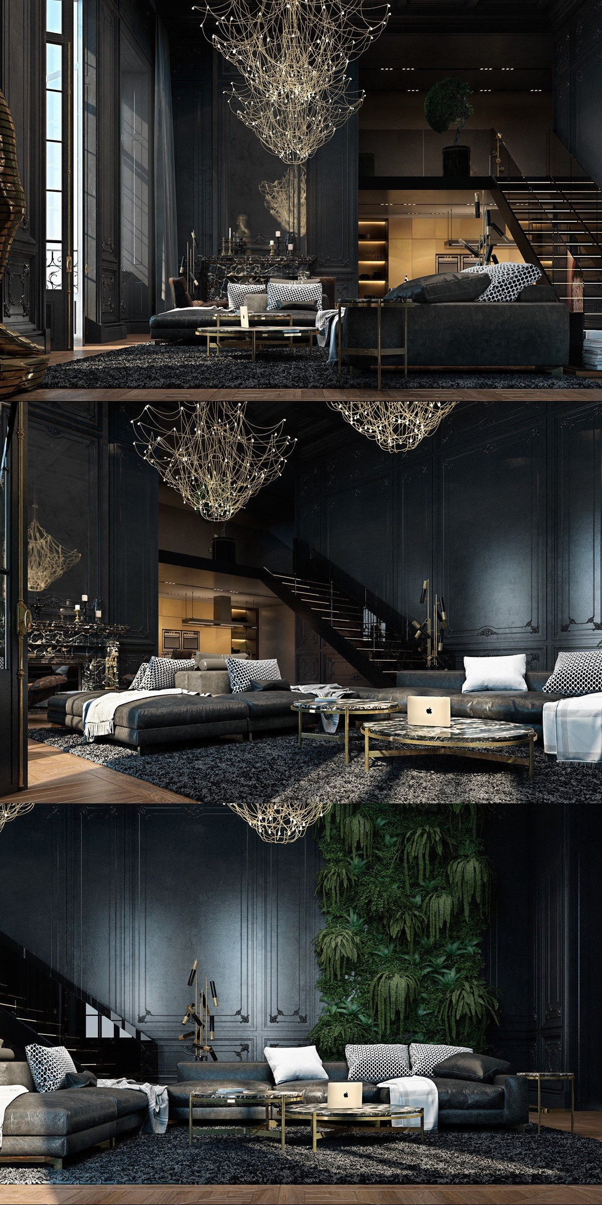 Living Room Ideas Black Black Living Rooms Ideas & Inspiration