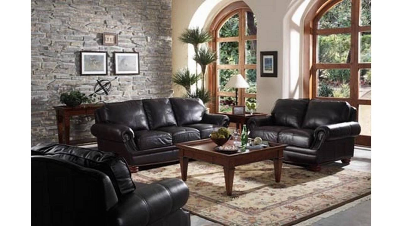 Living Room Ideas Black Living Room Ideas with Black sofa