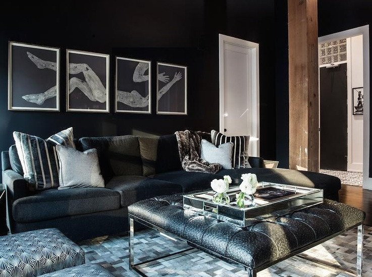 Living Room Ideas Black Simple Black Living Room Ideas to Inspire