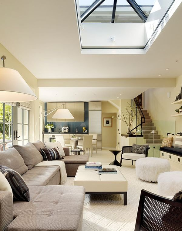 Living Room Ideas Contemporary 30 Inspirational Ideas for Living Rooms with Skylights