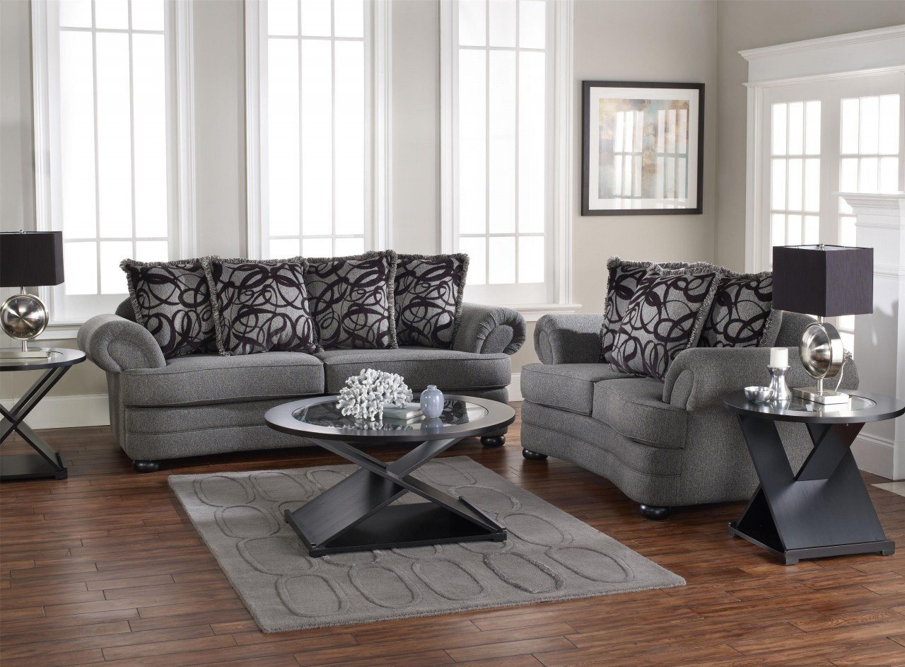 Living Room Ideas Furniture Living Room Design with Gray sofa Displays fort and