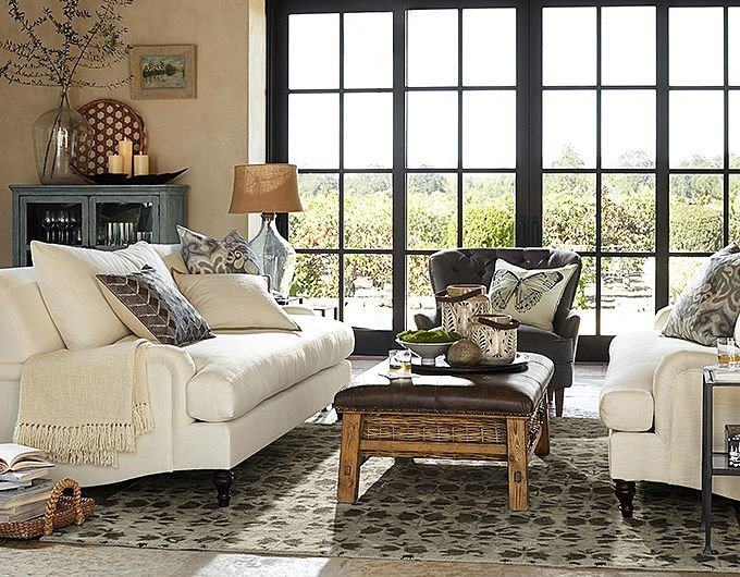 Living Room Ideas Pottery Barn Dining Room Chair Upholstery Ideas Pottery Barn Living