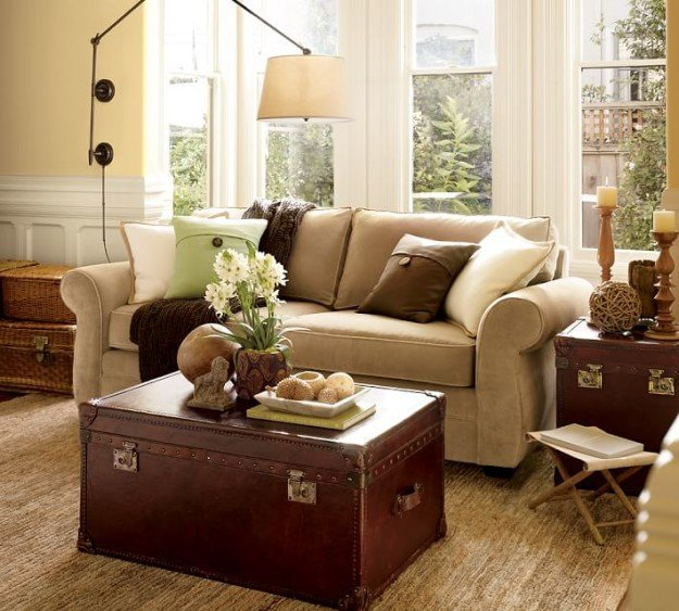 "Living Room Ideas Pottery Barn Modernizing and ""eclecticizing"" A Pottery Barn Living Room"
