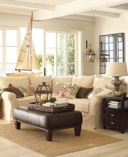 Living Room Ideas Pottery Barn Moonlight sonata Pottery Barn