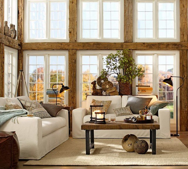 Living Room Ideas Pottery Barn Pottery Barn
