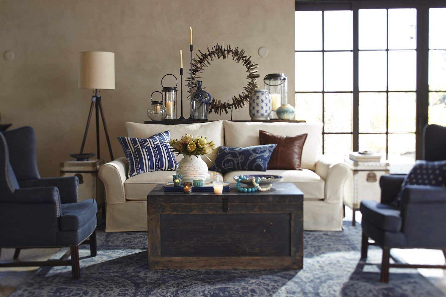 Living Room Ideas Pottery Barn Say Hello to Pottery Barn S Performance Fabric Collection