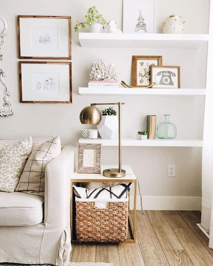 Living Room Ideas Shelves 15 Open Shelving Ideas to Consider for Your Home Revamp