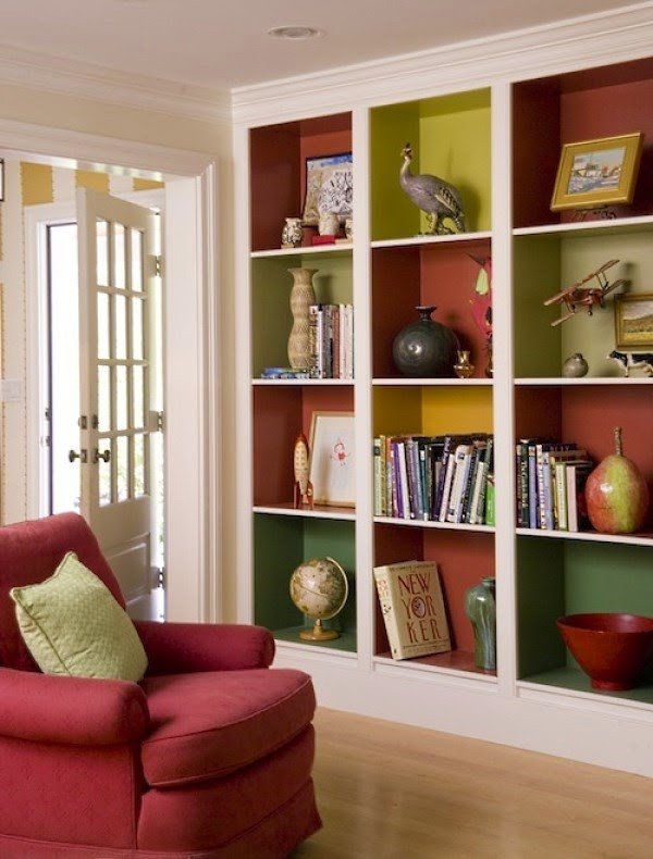 Living Room Ideas Shelves 40 Decoration Ideas for Shelves In A Living Room 20