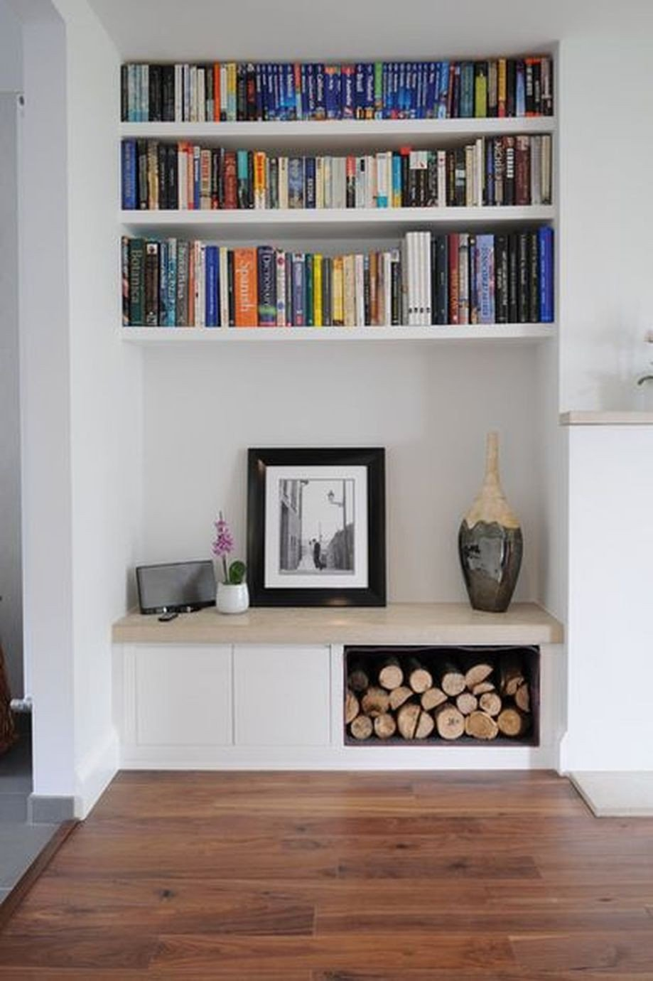 Living Room Ideas Shelves Brilliant Built In Shelves Ideas for Living Room 25