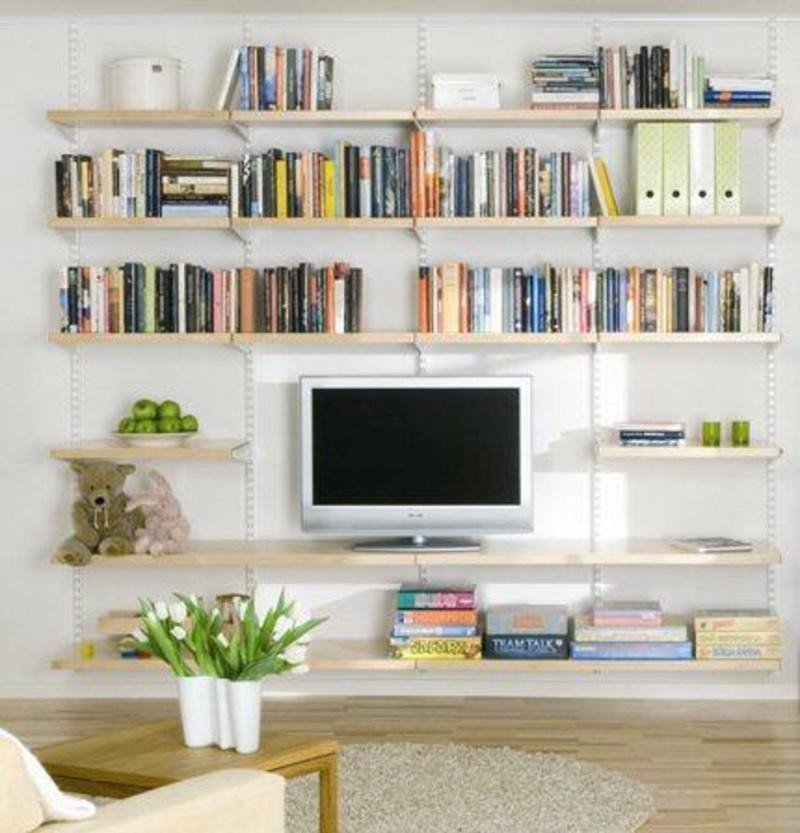 Living Room Ideas Shelves Decorate A Modern Living Room Shelf In You Living Room
