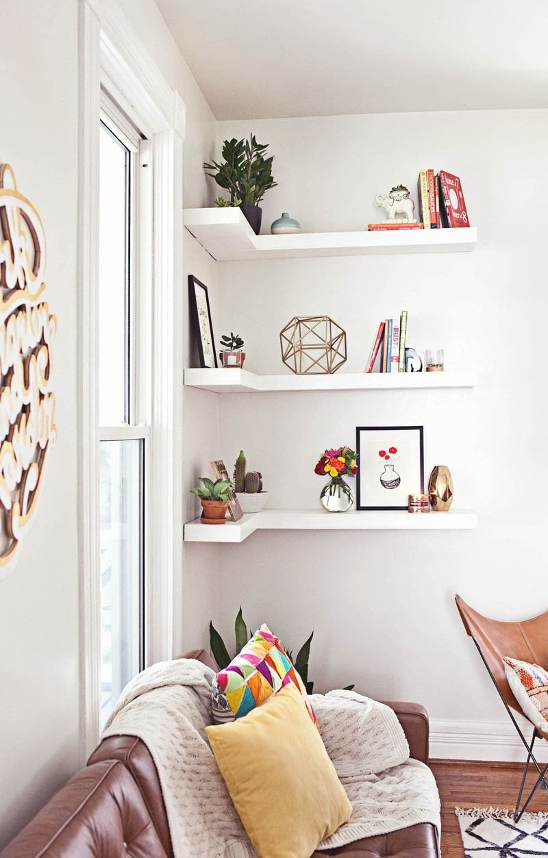 Living Room Ideas Shelves How to Style Decorative Shelves