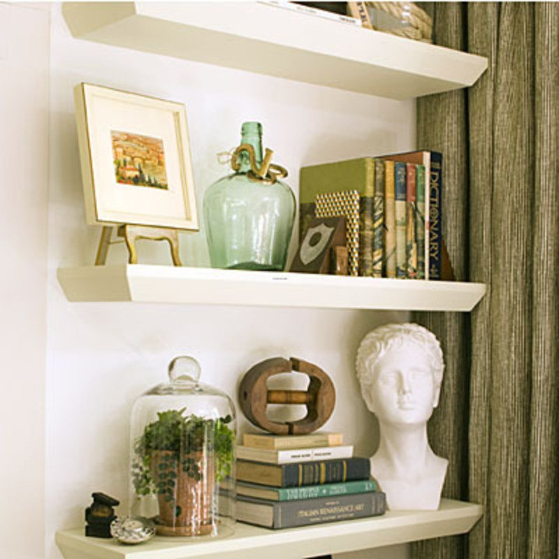 Living Room Ideas Shelves Living Room Decorating Ideas Floating Shelves