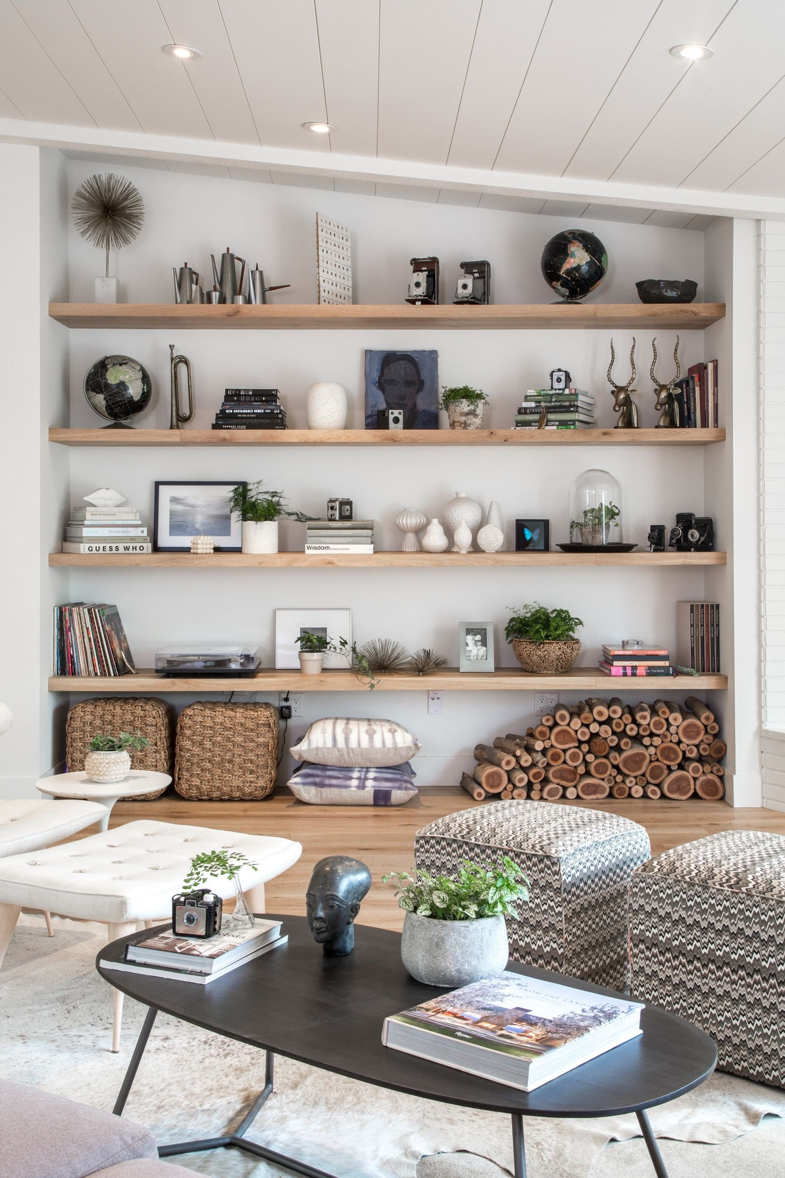 Living Room Ideas Shelves Living Room Open Shelf Styling Bethany Nauert S Portfolio